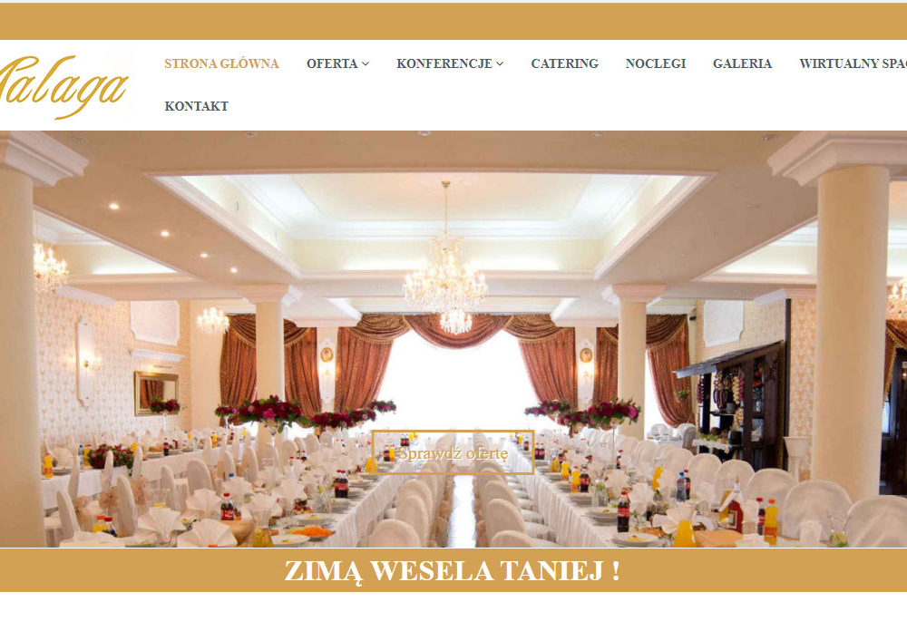 Strona internetowa dla Malaga Sala
